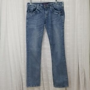Vigoss Collection Distressed Jeans  - Size 7/8